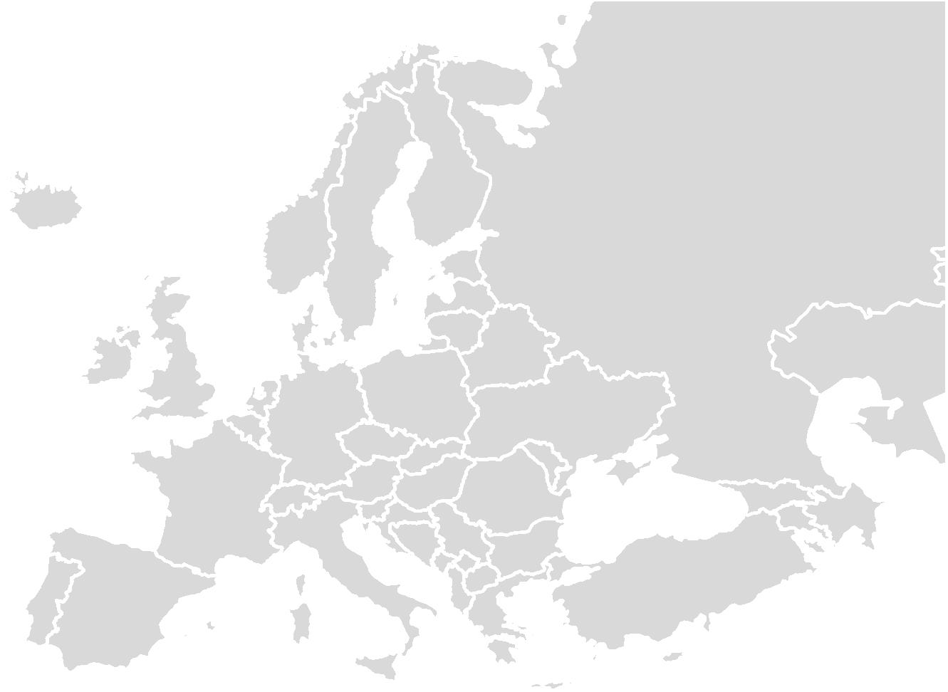 Livraison dans l'europe
