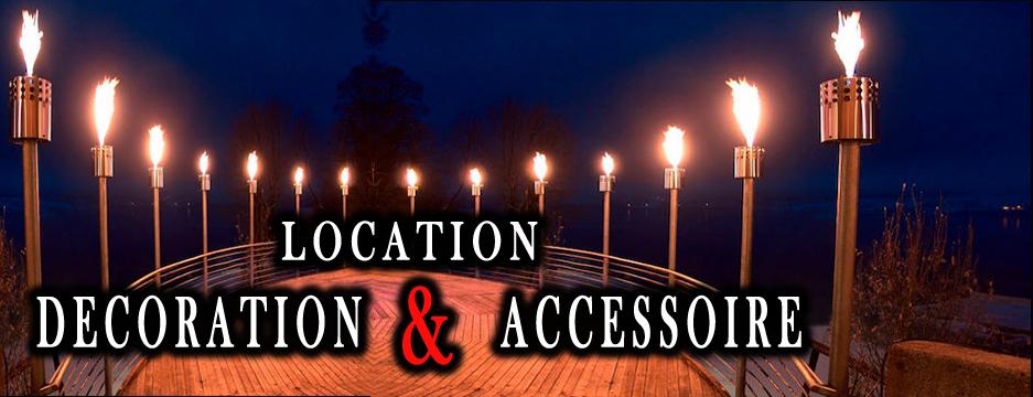 Location accessoire